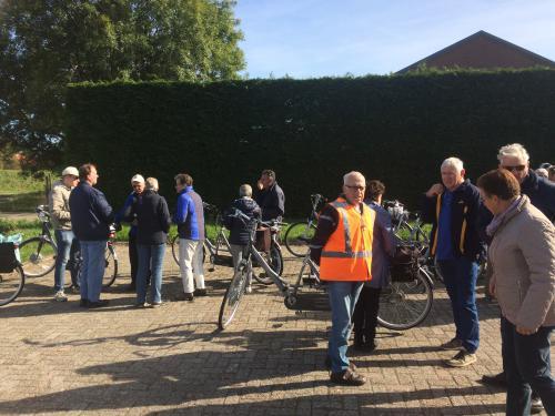 In de buurt van Poortvliet was het tijd voor een vudb-stop.