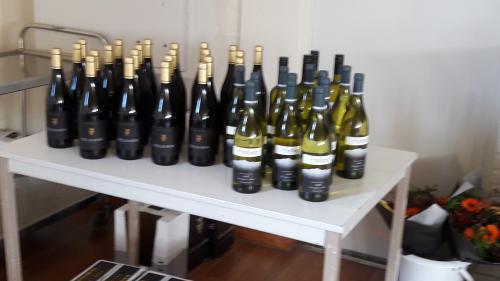 Voor de diverse klassementen was er een lekkere fles wijn beschikbaar