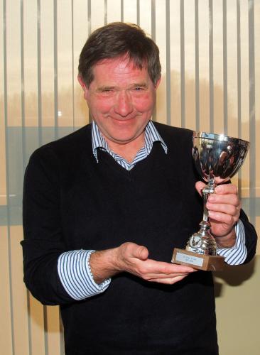 Tini is blij met zijn tweede plaats in het jaarklassement