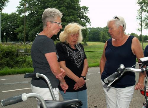 Anneke, Angeline en Marie-Josee