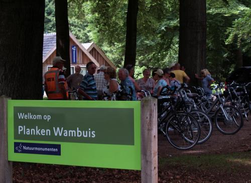 Vudb-stop bij Planken Wambuis. Een bekende naam voor ons West-Brabanders alleen in een veel mooiere omgeving