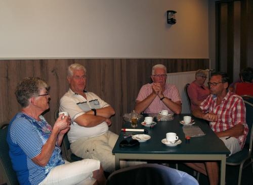 Lunchpauze bij Huis ten Halve in Roosendaal