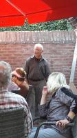 Onze oud-penningmeester Piet kwam na afloop nog even gedag zeggen