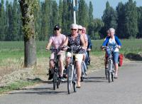 Lekker fietsen door een mooie omgeving