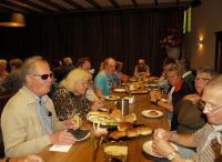 Genieten van een heerlijke lunch bij cafe Donkenhof in Wouw