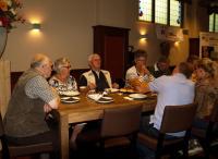Ook onze Zeeuwse vrienden genieten van een geweldig lekkere lunch