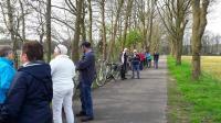 Vouwen uit de broek stop tijdens de tocht vanuit Roosendaal