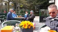 Lunchpauze lekker in het zonnetje bij Cafe Jagersrust